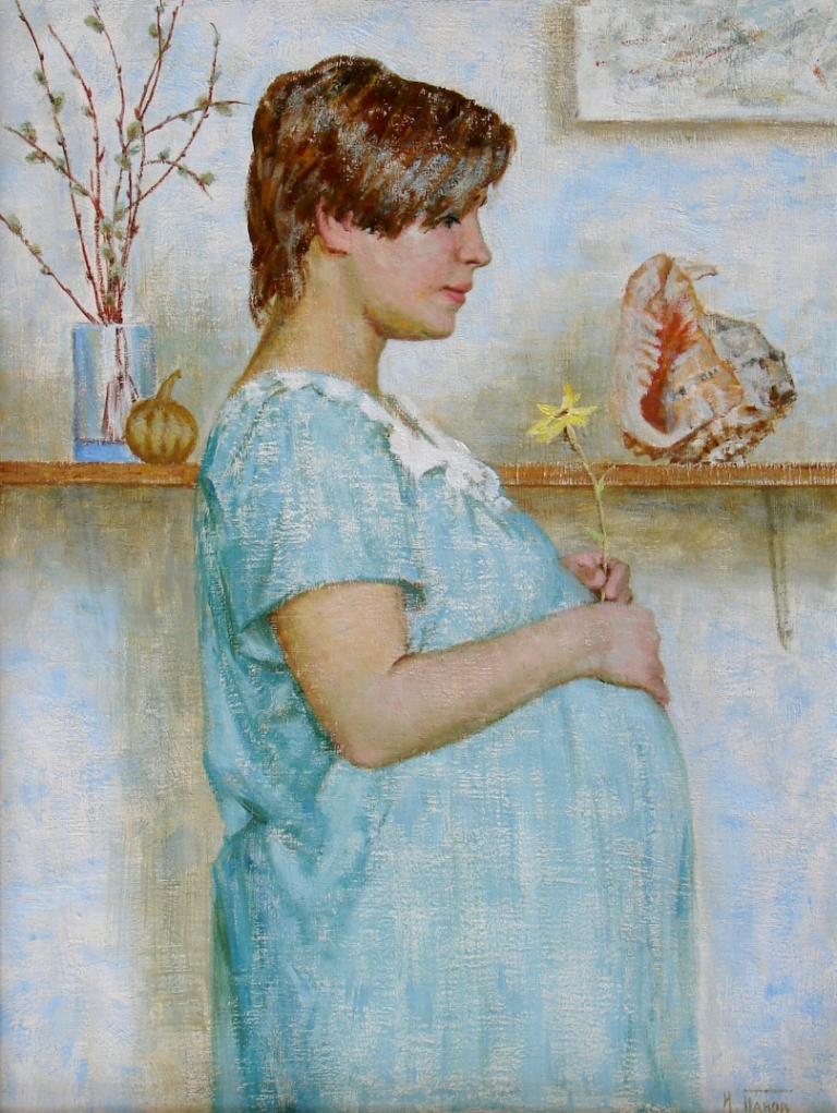 Картины беременных и детей
